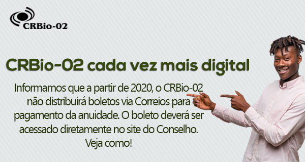 CRBio-02 Cada vez mais digital!